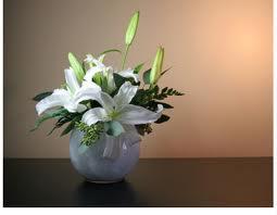 sympathy flower bowl